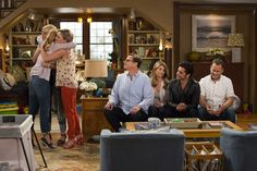 Netflix released the first images from the set of its original series 'Fuller House' on Thursday, Jan. featuring familiar faces like Candace Cameron Bure, Jodie Sweetin and Andrea Barber — see the photos Fuller House Season 3, House Season 2, Fuller House Cast, Netflix Releases, Shows On Netflix, Netflix Series, John Stamos, Lori Loughlin, Fuller House Trailer