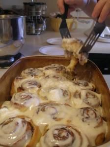 Homemade Cinnabons - but better!