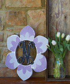 Pointy Flower Monogram