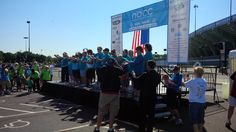 Becker's at NOCC Walk/Run to Break the Silence of Ovarian Cancer, September 7, 2013: Survivor's butterfly release