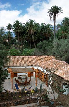 Casa y Palmeral