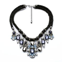 2014 Crystal Shourouk Necklaces New Fashion Jewelry for Women Fashion Crystal Shourouk Necklaces Wholesale Free Shipping $16.88