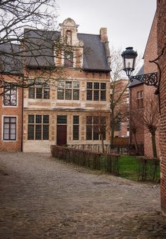 Great Béguinage of Leuven, Belgium, a UNESCO World Heritage Site.