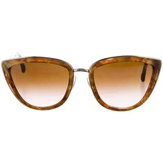 Pre-owned Dolce & Gabbana Tinted Cat-Eye Sunglasses ($145) ❤ liked on Polyvore featuring accessories, eyewear, sunglasses, brown, cat eye sunglasses, tinted lens glasses, logo sunglasses, dolce gabbana eyewear and tinted lens sunglasses