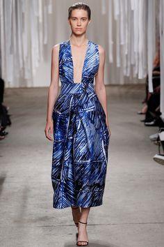 Milly Spring 2016 Ready-to-Wear Fashion Show. Printemps 2016 prêt-à-porter #mode #fashion