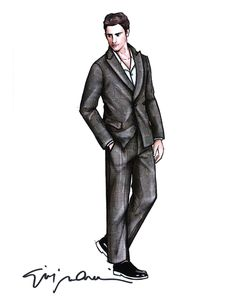 Men Fashion Designer Sketches Milan Men S Sketch Fashion