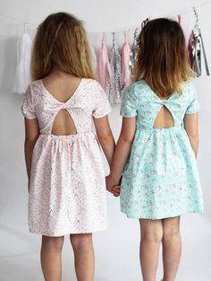 Starlight city dress PDF sewing pattern by lil luxe collection sewn by Miley and moss Kids Outfits Girls, Girls Bows, Girl Outfits, Baby Girl Dresses, Baby Dress, Little Girl Fashion, Kids Fashion, Bow Back Dresses, Sewing Kids Clothes