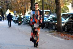 The final shows of the fashion season bought some of the most memorable looks to the streets. Paris didn't disappoint, despite the moody weather.