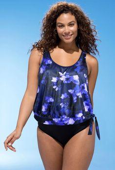 692e5a84b2f10 #Valentine's Day Sale! #EnvyWe #SwimsuitsForAll - #s4a Bellissima Blouson  Tankini -