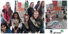 We're so proud of #GirlScouts Troop 3438 in Fairfax, Virginia for educating their community about #cocoa farmers in West Africa! To get free Fairtrade materials for your organization, click the Pin!