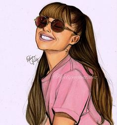 Finally doing some realistic stuff @arianagrande // pls tag her and follow my personal @felipegoca if you want  I really like this drawing and I hope you love it too i love you guys!