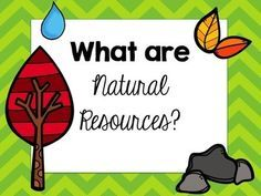 Enjoy this FREE natural resources powerpoint. Topics include natural resources, their uses, non-renewable and renewable resources. Please leave positive feed 3rd Grade Social Studies, Teaching Social Studies, Student Teaching, Science Resources, Science Lessons, Science Activities, Nature Activities, Primary Science, Science Classroom