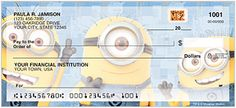 Save 20% off on their new Minion Checks and Accessories... Grab your Minion checks now...