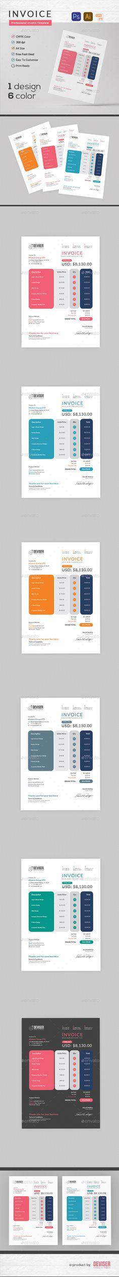 Invoice with Letterhead Letterhead - proposals templates