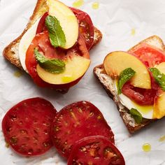 In love with Caprese salad? Then you'll definitely want to try this new take on the classic, which gets a dose of sweetness from ripe peaches.
