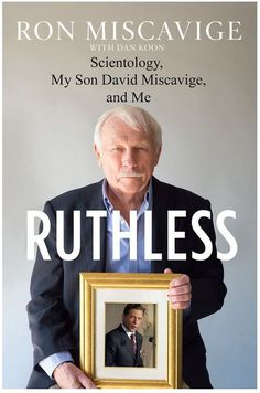 """RON MISCAVIGE SR.'S BOOK """"RUTHLESS"""" TO BE RELEASED MAY 3RD!"""