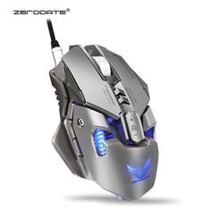 2f004c71891 ZERODATE 3200 DPI USB Wired Competitive Gaming Mouse 7 Programmable Buttons  Mechanical Macro Definition Programming Game Mice