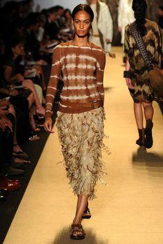 Michael Kors Spring 2012 {by Christina Perez for Fashionologie} Safari, taupe, olive, washed clay, zebra, snakeskin, sand, fashion