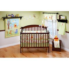have a Winnie the Pooh theme baby room
