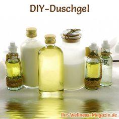 Duschgel selber machen - Duschgel Rezept für Sport Duschgel ...
