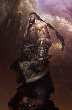 Krobkrut, Ancient hero of legend