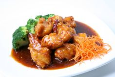 Perfect for lunch - General Tso's Chicken  #eatlocal #eatkc #foodie Visit KC #kcmo #kc #kansascity