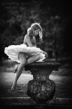 Bird Bath Ballerina