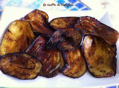 #Melanzane fritte con olio e aceto balsamico