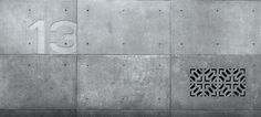 Concrete wall covering Panels by IVANKA