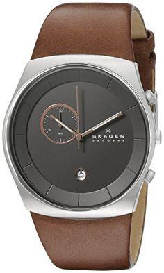 Skagen Men's SKW6085 Havene Quartz/Chronograph Stainless Steel Dark Brown Watch Skagen http://www.amazon.com/dp/B00GN3LF9I/ref=cm_sw_r_pi_dp_06stwb0M0Z0D8