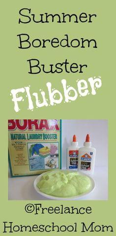 Summer Boredom Buster: Flubber - LynnaeMcCoy.com