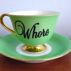This is as classy as it gets. Tea parties might be funnier than I thought......