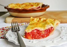 Little B Cooks: Chronicles from a Vermont foodie: Pies Strawberry Rhubarb Pie