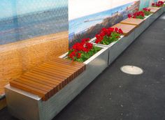 Linear Planter/Seat - Kieran McKernan Architecture & Urbanism