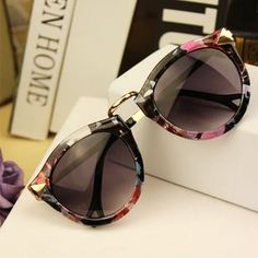 Free Shipping 2013 Brand Designer Vintage Trend Sunglasses For Women Men Round Retro Sun Glasses Sports Bike Oculos De Sol
