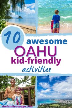 Top 10 Things to Do in Oahu with Kids - Whether you've taken an Oahu family trip or it's your first time, you won't want to miss these fun Oahu things to do with kids of all ages. Adults will love them too, so be sure they're on your Oahu itinerary for families. There are plenty of wonderful things to do in Honolulu, things to do on the North Shore and beyond!