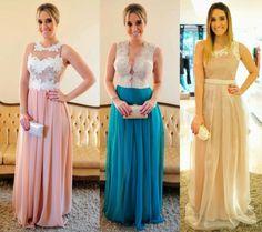 Madrinhas de casamento: Nove vestidos de festa: Paula Guimarães