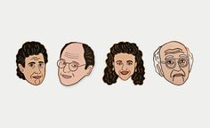 Georgia Perry Seinfeld Pins | Cool Material