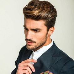 10 Best Men S Highlights Images On Pinterest Men Hair Styles