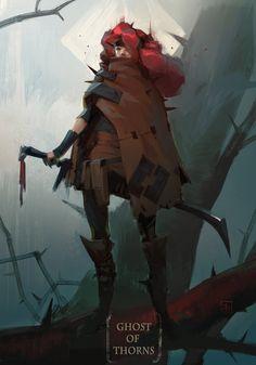ArtStation - The Shrub - Spirit of Thorns, Georgi Simeonov