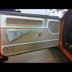 69 Camaro door panels custom dash console Atlanta installer.