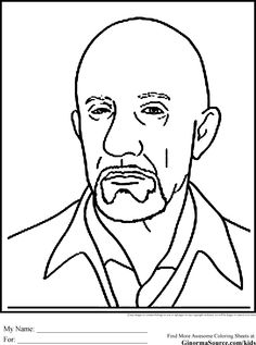 breaking bad coloring pages free to print