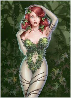 Poison Ivy by LorenzoDiMauro.deviantart.com on @DeviantArt