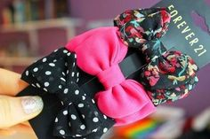Forever 21 Bows use like bow in gift wrapping and small gift also