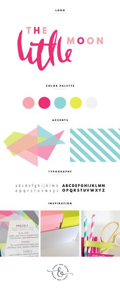 Pastel and neon brand design | by Heart & Arrow