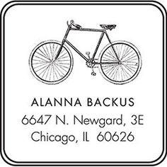 Bike Custom Stamp - PS design