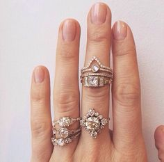Find more ring stack inspo at www.fashionaddict.com.au