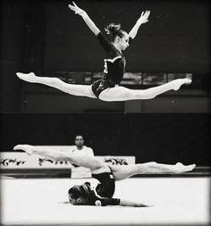 Vika. Her over splits is glorious.