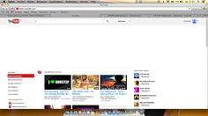 Youtube - Youtube heeft een sterke website. Omdat er zoveel opstaan is het moeilijk om het rustig te houden, maar het is erg duidelijk waar je videos kan zoeken.