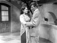 Linda Darnell & Robert Mitchum - SECOND CHANCE